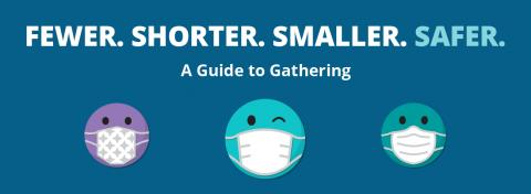 Fewer. Shorter. Smaller. Safer. A Guide to Gathering.