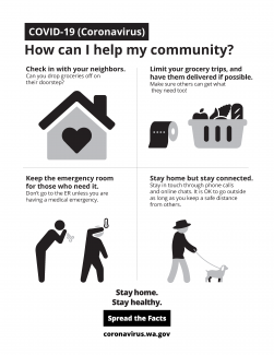 How can I help my community?
