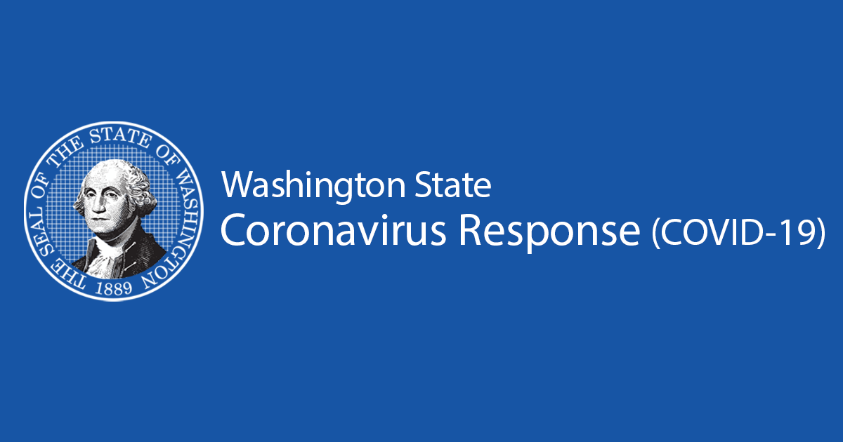 Information For Washington State Coronavirus Response Covid 19